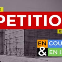 La pétition est sortie : venez la signer