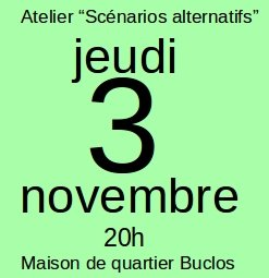 "Atelier ""Scénarios Alternatifs"""
